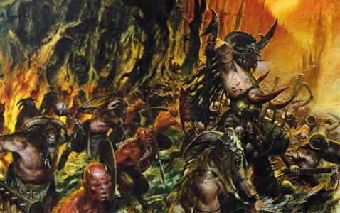 Warhammer Beastmen army
