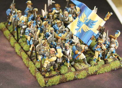 Warhammer Empire troops