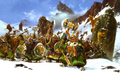 Warhammer Fantasy Dwarfs