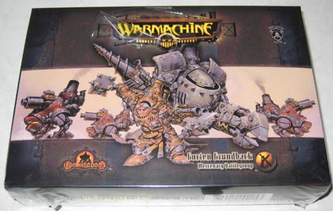 Warmachine Mercenary Rhulic starter box
