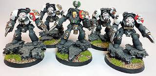 Black Templar Terminators