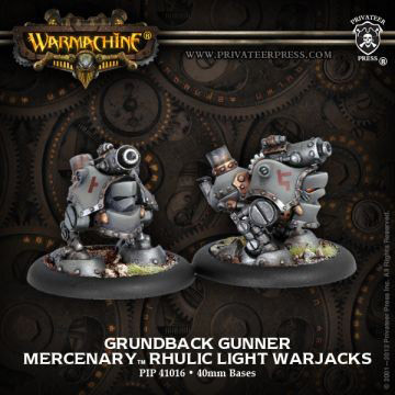 Rhulic light warjack gunners
