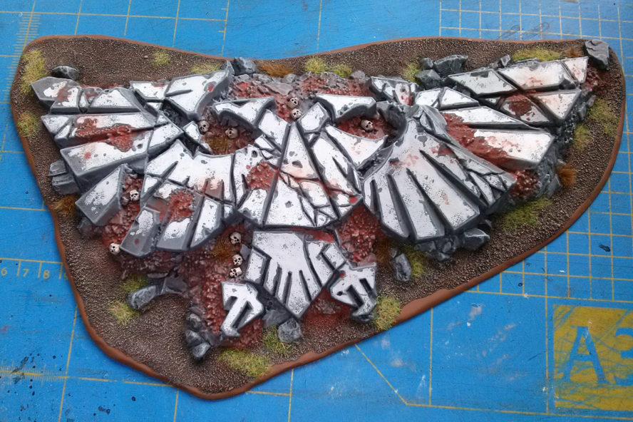 Imperial Aquila terrain piece